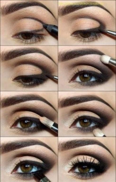 Smokey Eyes Step-by-Step