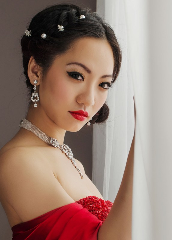 Wedding makeup chinese