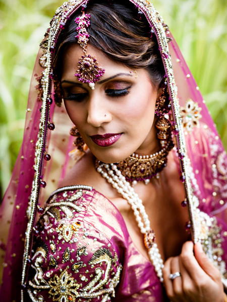 Glamour Bridal Make-up Look 4 East Indian