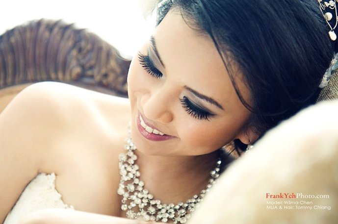 Glamorous Bridal Makeup From Start To Finish : bridal make-up and hair Tommy Beauty Pro