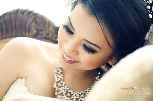 Glamour Bridal Make-up Look 1