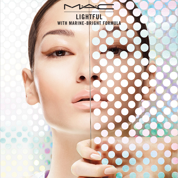Tommy Beauty Pro: M·A·C Lightful Skincare: Marine-Bright Formula