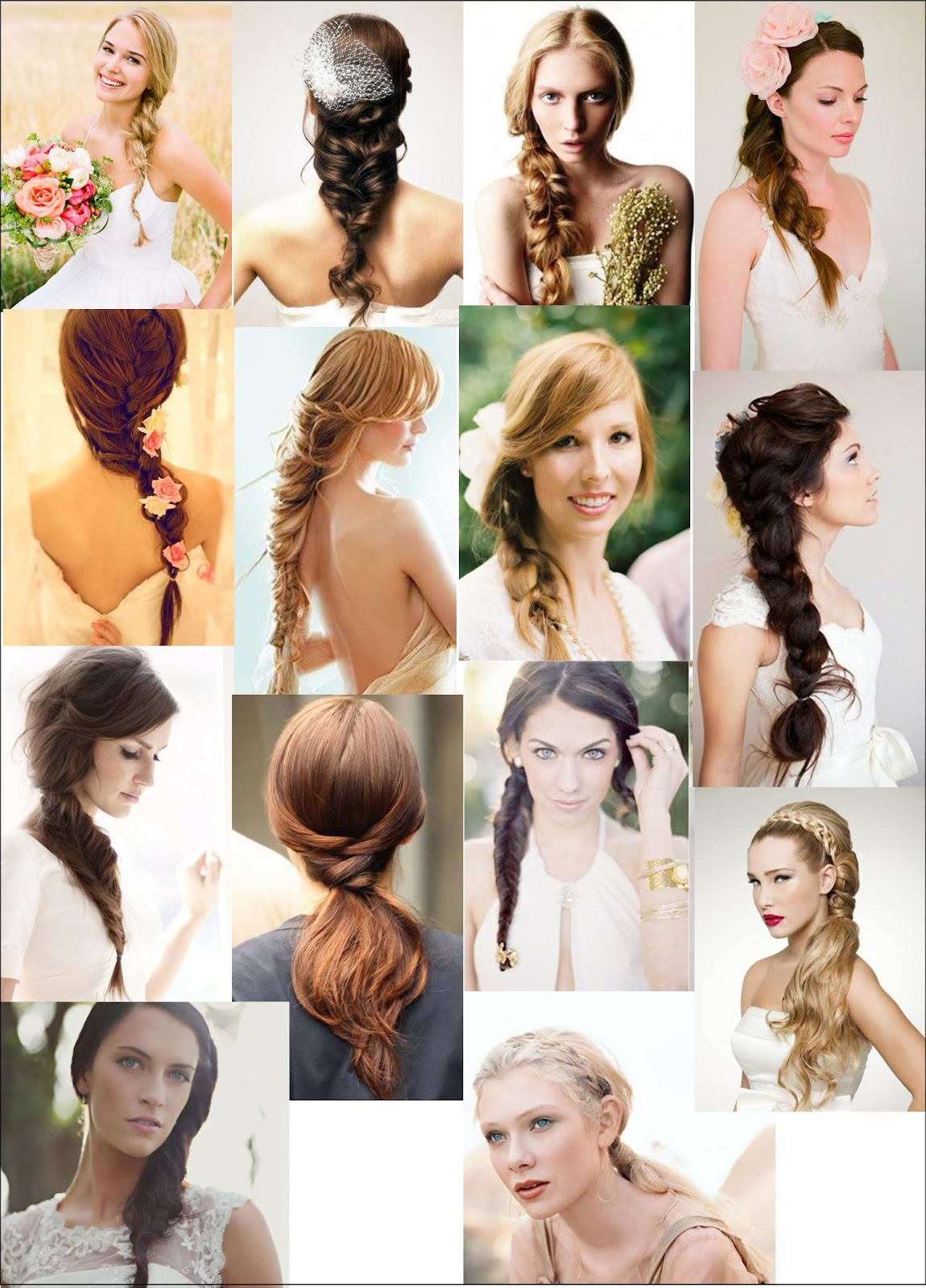 PONYTAILS WITH BRAID DETAILS FISHTAILS AND LONG LOOSE BRAIDS