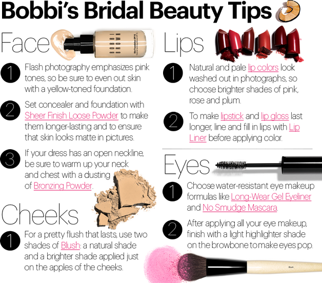 Bobbi Brown Makeup Tips For Weddings Tommy Beauty Pro