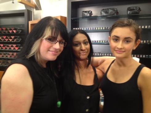 Keri Blair + Sam + Daniella (Richard's Model Agency)