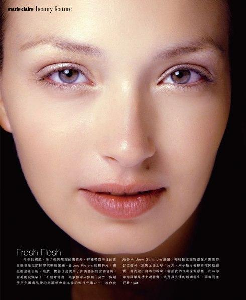 A Perfect, Fresh Skin Make-up Look . 完美肌膚/自然裸妝
