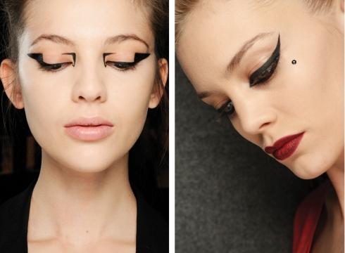Graphic Eye Liner Looks