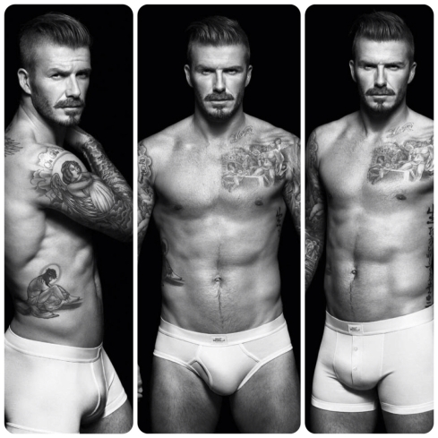David Beckham for H&M Bodywear - Fall 2012