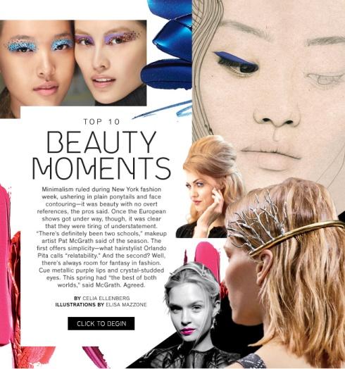 Top 10 Beauty Moments