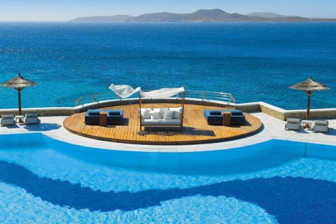 Mykonos Grand Hotel in Greece