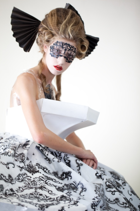 Designer: Sherry Guo | Model: Kayla | Make-up: Tommy Chiang