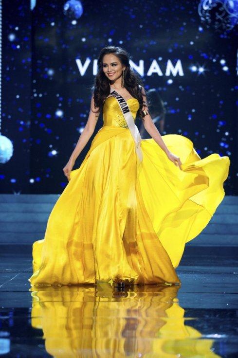 Miss Universe Vietnam 2012 Diem Huong Luu