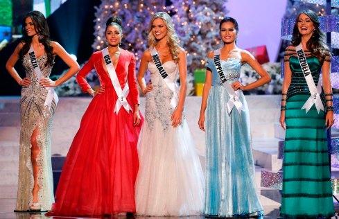 Miss Universe 2012 Final 5