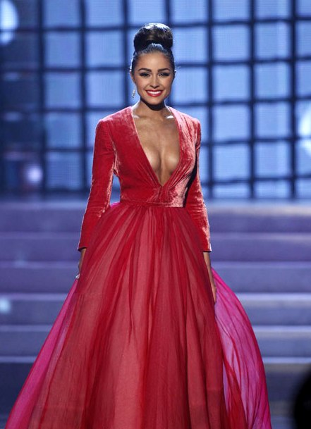 Olivia Culpo of USA is the new Miss Universe 2012