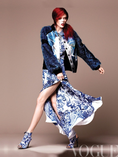 Coco Rocha for VOGUE Mexico December 2012-07