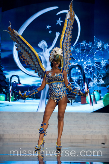 National Costume: Curacao 2012