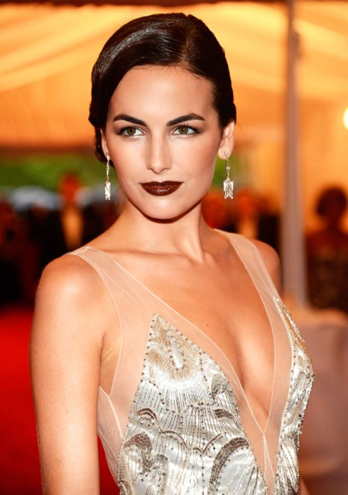 Dark Lip: Camilla Belle