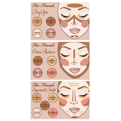 How-To Glamour Guide: Natural Face Palette