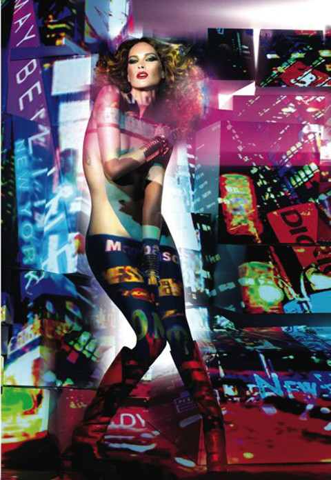 Erin Wasson as 'Times Square'