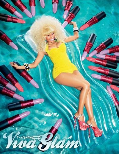 M·A·C Cosmetics-Viva Glam Nicki Minaj 2