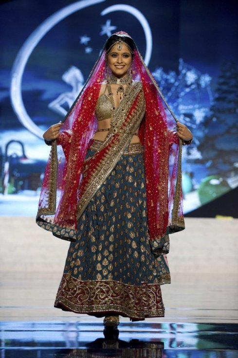 Miss Universe India 2012 Shilpa Singh in National Costume