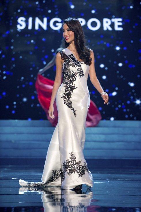Miss Universe Singapore 2012 Lynn Tan