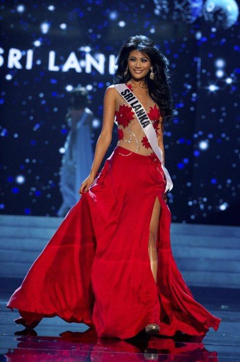 Miss Universe Sri Lanka 2012 Sabrina Herft