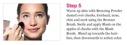 Pretty Powerful Makeup Lesson step5
