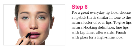 Pretty Powerful Makeup Lesson step6