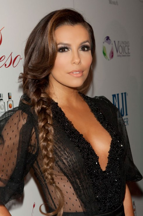 Side Braid: Eva Longoria