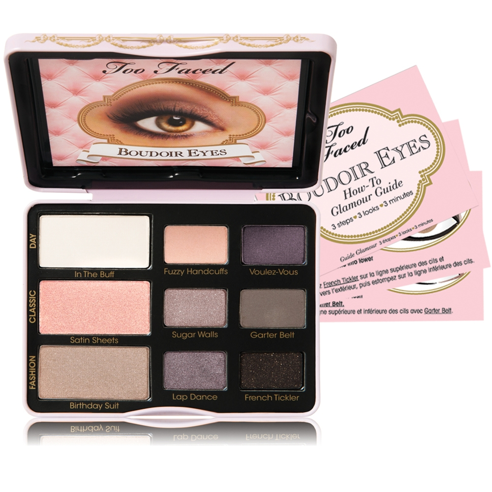 too faced cosmetics palettes tommy beauty pro. Black Bedroom Furniture Sets. Home Design Ideas