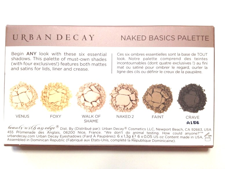 Urban Decay: Naked Basics Palette