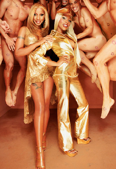 M·A·C Cosmetics-Viva Glam III, Campaign 1 Mary J. Blige, Lil' Kim