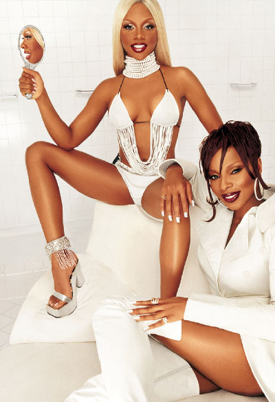 M·A·C Cosmetics-Viva Glam III, Campaign 2 Mary J. Blige, Lil' Kim
