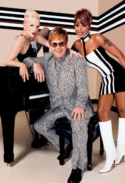 M·A·C Cosmetics-Viva Glam IV, Campaign 2 Sir Elton John, Mary J. Blige, Shirley Manson