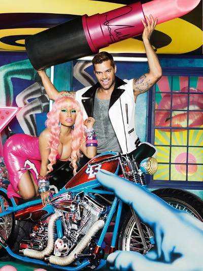 M·A·C Cosmetics-Viva Glam Nicki Minaj and Ricky Martin