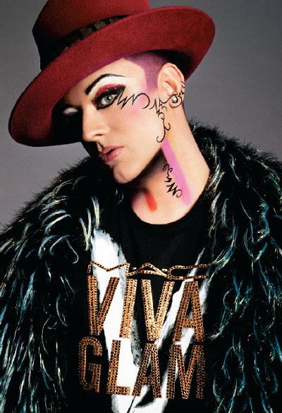 M·A·C Cosmetics-Viva Glam V, Campaign 1 Boy George