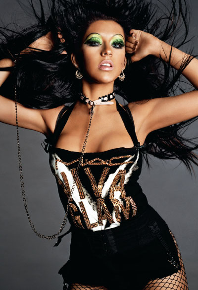 M·A·C Cosmetics-Viva Glam V, Campaign 1 Christina Aguilera