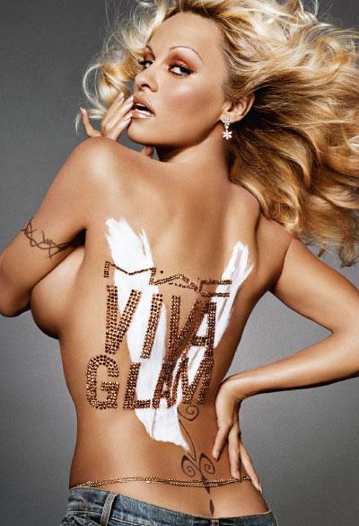 M·A·C Cosmetics-Viva Glam V, Campaign 2 Pamela Anderson