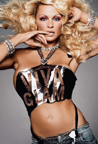 M·A·C Cosmetics-Viva Glam V, Campaign 3 Pamela Anderson