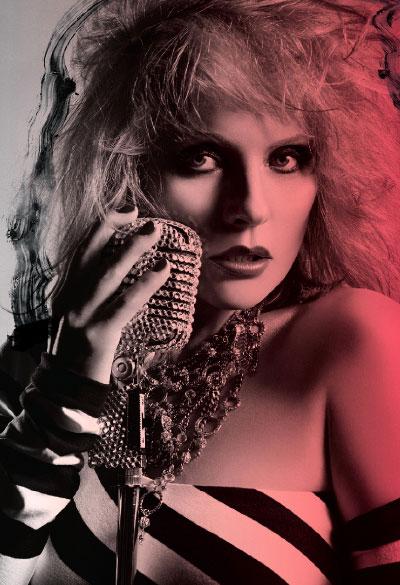 M·A·C Cosmetics-Viva Glam VI, Campaign 1. Debby Harry