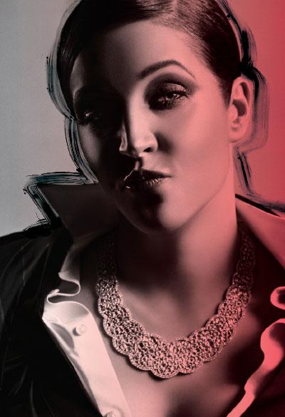 M·A·C Cosmetics-Viva Glam VI, Campaign 1. Lisa Marie Presley