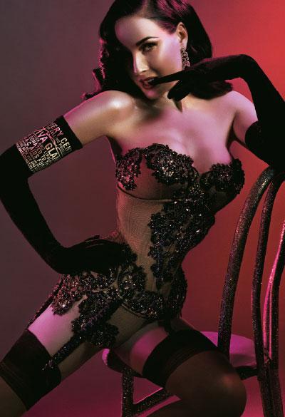 M·A·C Cosmetics-Viva Glam VI, Campaign 2. Dita Von Teese