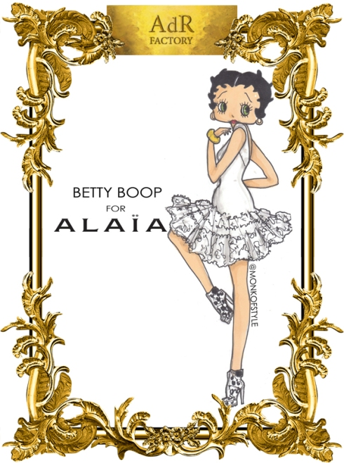 aDr Betty Boop for Alaia