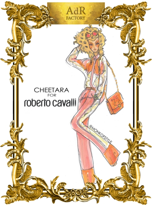 aDr Cheetara for Roberto Cavalli