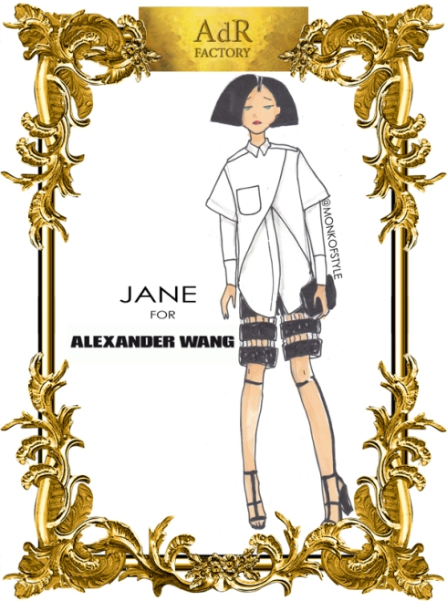 aDr Jane for Alexander Wang