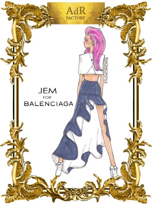 aDr Jem for Balenciaga