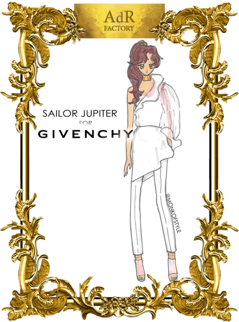 aDr Sailor Jupiter for Givenchy