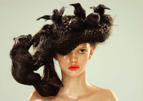 Hair Art Hat by
