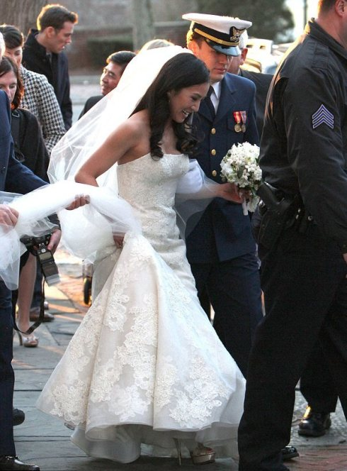 Michelle Kwan Wedding